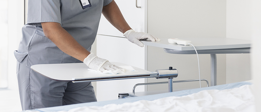 A guide to surface hygiene in healthcare environments