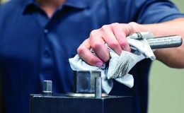 Optimize manufacturing processes by cleaning
